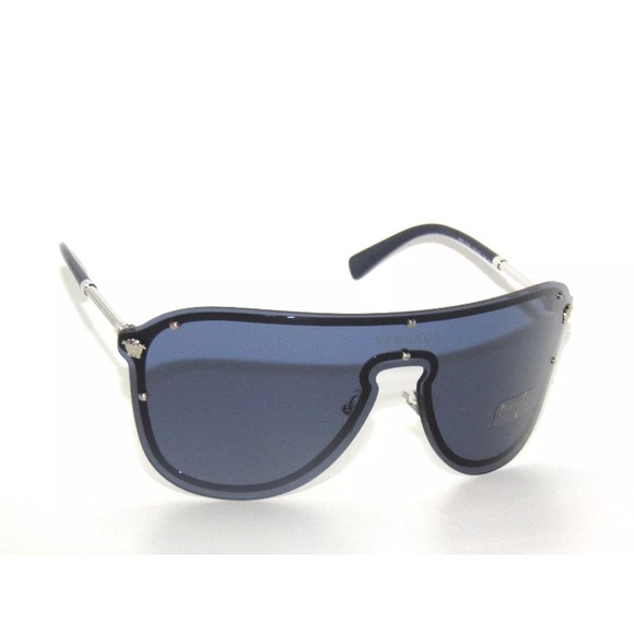 7b99311e881c Versace Sunglasses 2180 blue and Silver